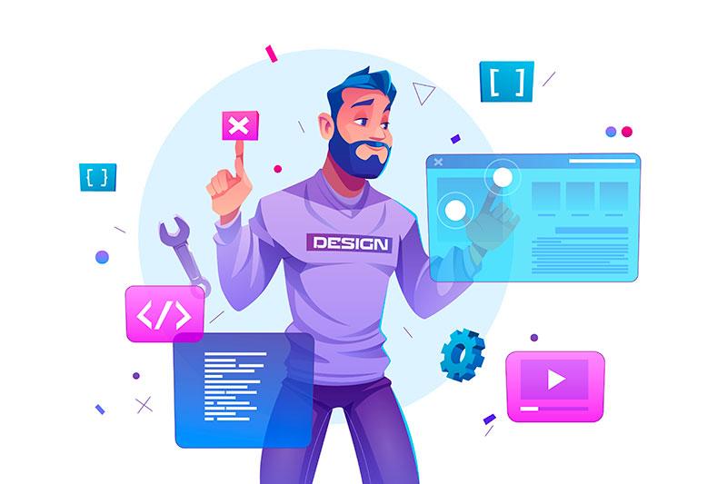 Création de site internet sous Elementor